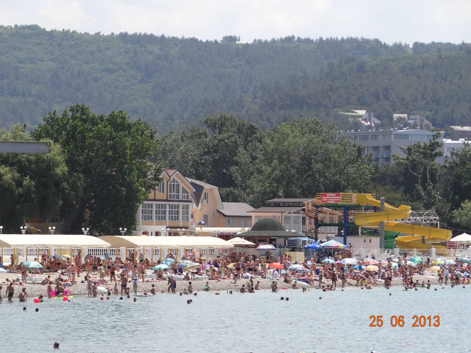 Дивноморское краснодарский край пляж фото